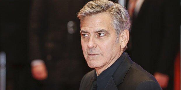 Clooney: Betrunken bei Casting