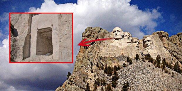 Das Geheimnis hinter den mysteriösen Katakomben im Mount Rushmore