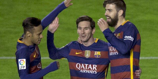 Zicken-Terror beim FC Barcelona