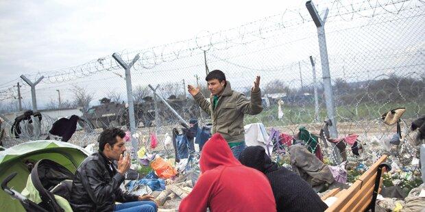 Schweiz: Stacheldraht gegen Flüchtlinge