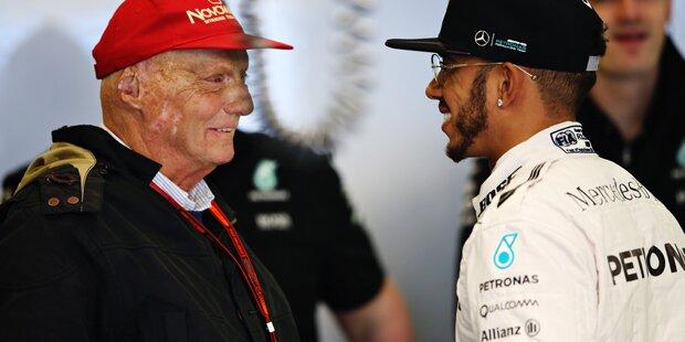 Jet Privato Niki Lauda : Niki lauda verrückter deal mit hamilton