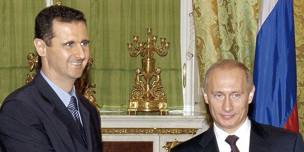 Putin schickt Assad Soldaten