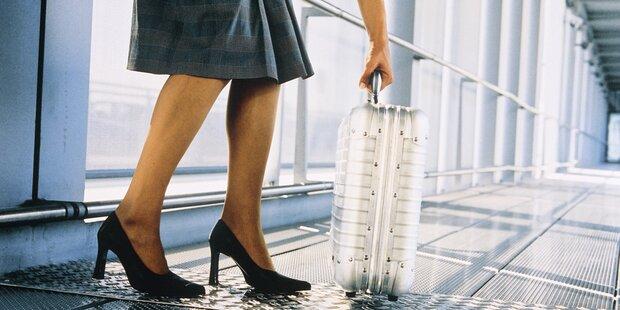 Warum man Röcke nie zum Fliegen anziehen sollte
