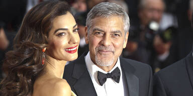 George Clooney & Amal