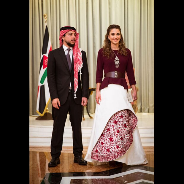 Königin Rania Im Style Check