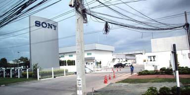Sony-Fabrik in Thailand