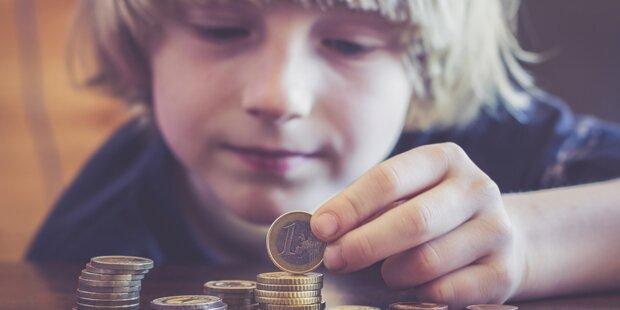 monatliche kosten kind