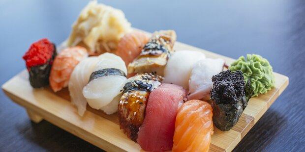 Forscher warnen: Sushi-Konsum ist gefährlich!