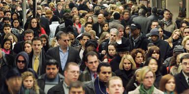 Menschen Menschenmenge