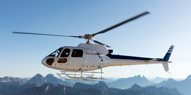 Hubschrauber verlor Metalltreppe während Flug