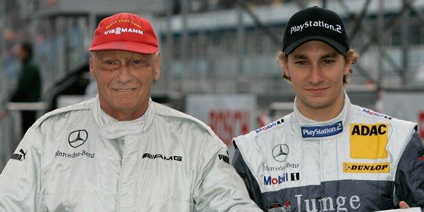 Lauda-Sohn dreht Ehrenrunde für Niki