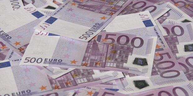 Die OeNB stellt Ausgabe der 500-Euro-Scheine ein