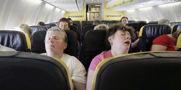 So irre sind Flugzeug-Passagiere wirklich