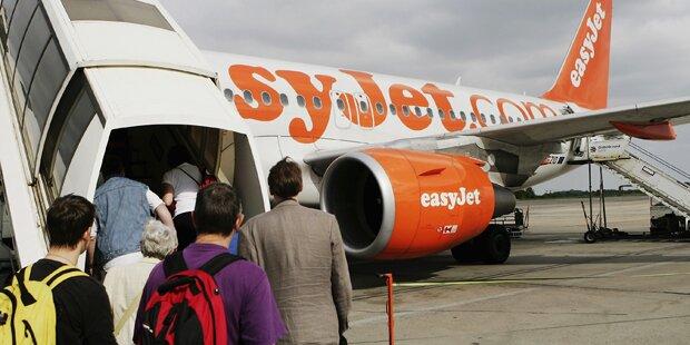 Terroralarm in Wien: Easy-Jet-Maschine evakuiert