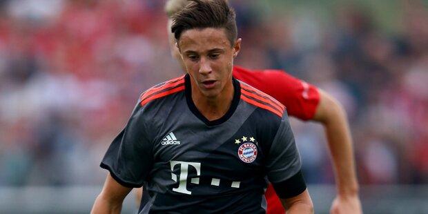 ÖFB-Juwel trifft bei Bayern-Test