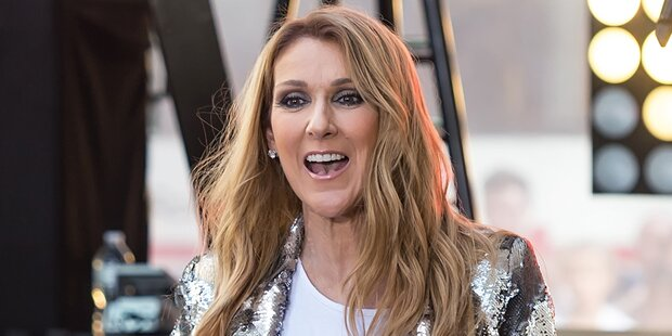 Celine Dion wird