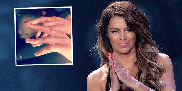Sabia Boulahrouz: Partner-Tattoo für...