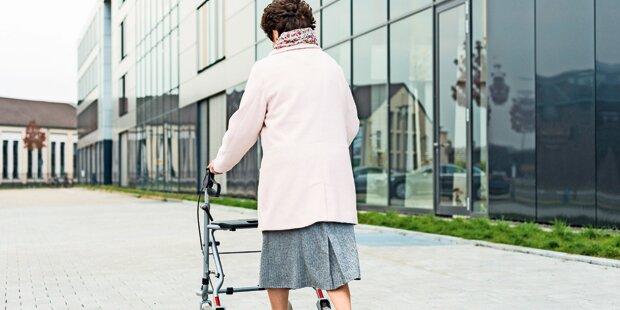 Oma (85) schlägt Räuber in die Flucht