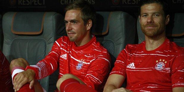 So werden Lahm & Alonso verabschiedet