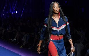 Wer hätte das gedacht!?: Naomi Campbell macht der Laufsteg nervös