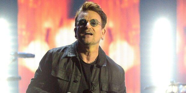 Drama um Bono bei Berlin-Show