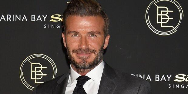 David Beckham: Mode-Rebell als Kind
