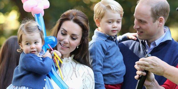Das bringen Kate & Will ihren Kids bei