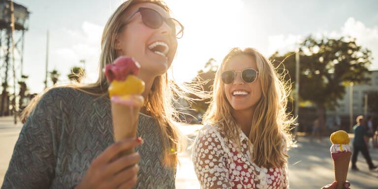So erkennen Sie gutes Eis im Urlaub!