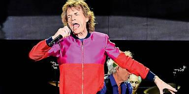 Jagger: Charts-Hit nach Baby
