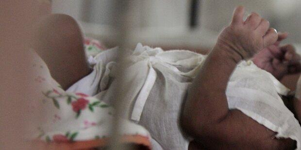 Baby lebendig begraben - nur durch Zufall gerettet