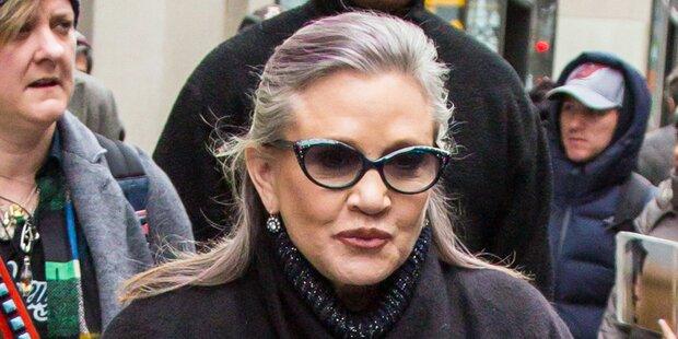 Carrie Fisher sagte ihren Tod voraus