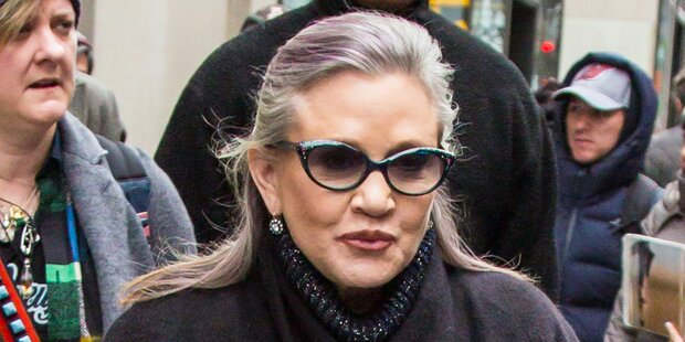 Carrie Fisher starb den Drogen-Tod