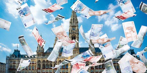 Wien spendiert Parteien die höchste Förderung
