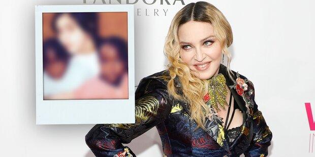 DAS sind Madonnas Zwillinge