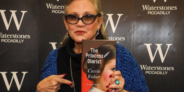 Ungewissheit über Carrie Fishers Zustand