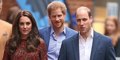 Prinz Harry und William: Friedens-Gipfel vor Philips Beerdigung