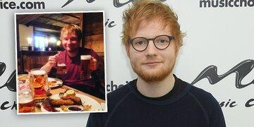 Sheeran: Geburtstag in Österreich