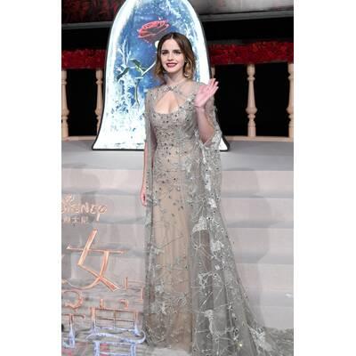 Emma Watson in märchenhafter Robe