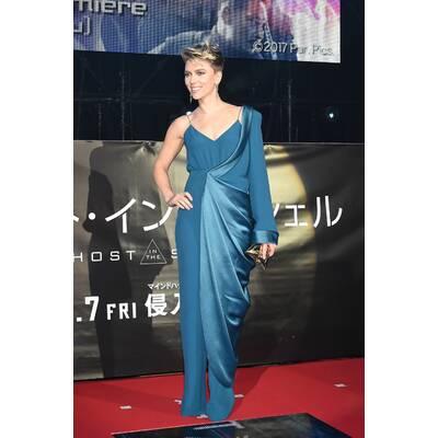 Scarlett Johansson bei Premiere in Tokyo
