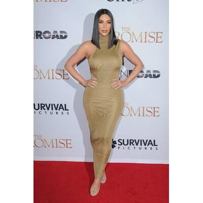 Kim Kardashian im Kleopatra-Look