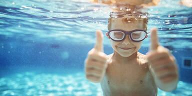 Pool Freibad Schwimmen Sommer