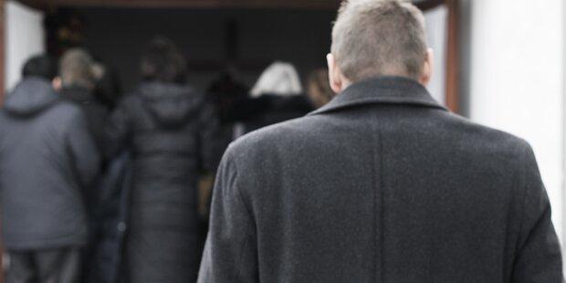 """Trauerfeier gestört: """"Komme, um Allahs Botschaft zu verkünden"""""""