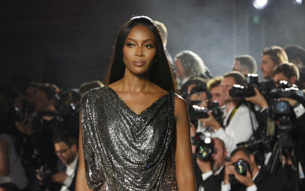 Naomi Campbell macht Mode für Tom Tailor