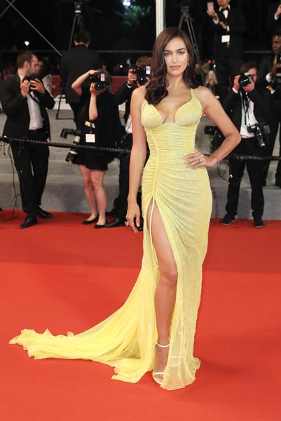 Irina Shayk in Cannes