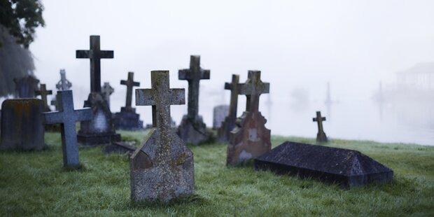 Kriminalermittler bekommen Friedhof für Leichenexperimente