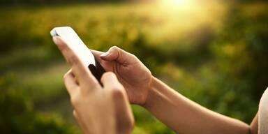 Smartphone Benutzung