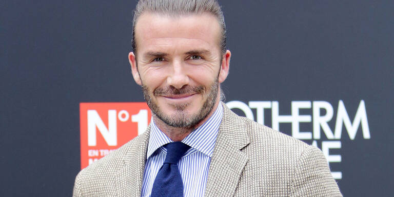 So lange braucht David Beckham im Bad