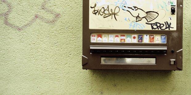 Zigarettenautomat gesprengt - Mehrere 1.000 Euro Schaden