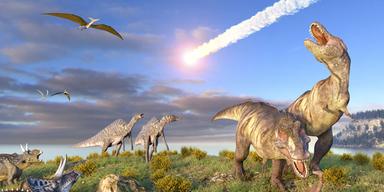 Kettenreaktion: DAS löschte die Dinosaurier wirklich aus