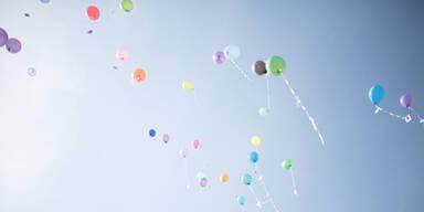 Luftballons lösten Suchaktion mit Helikopter aus